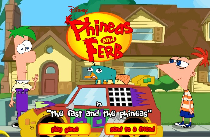 Play The Fast and the Phineas Game