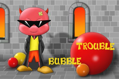 Play Bubble trouble Game