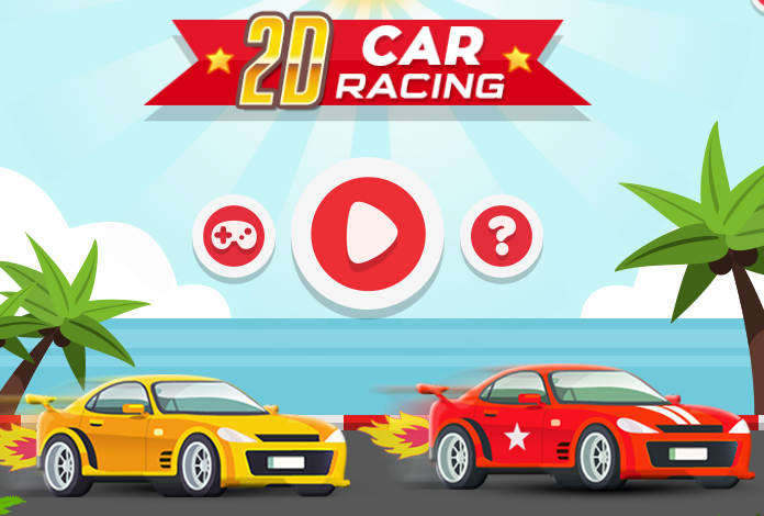 Play 2D Car Racing Game