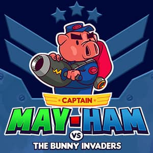 Captain May-Ham vs The Bunny Invaders