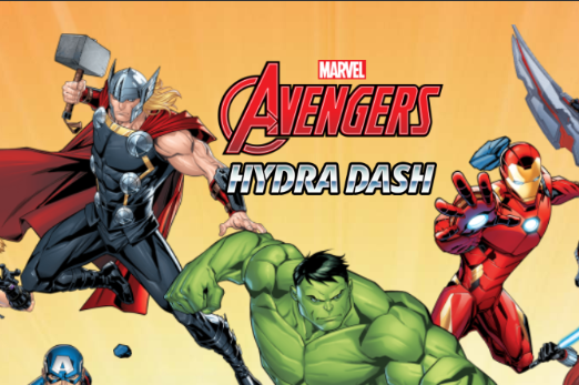 Play Avengers Hydra Dash Game