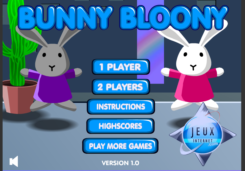 Play Bunny bloony Game