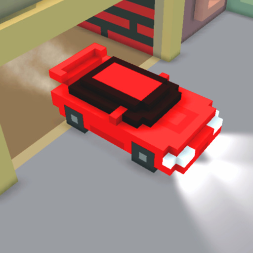 Play Cube City Racing Game