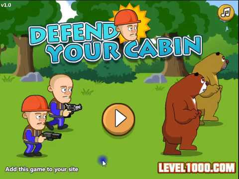 Play Defend Your Cabin Game