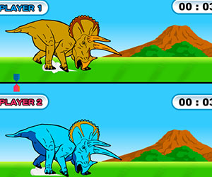 Play Dinosaur King- Dinolympics Game