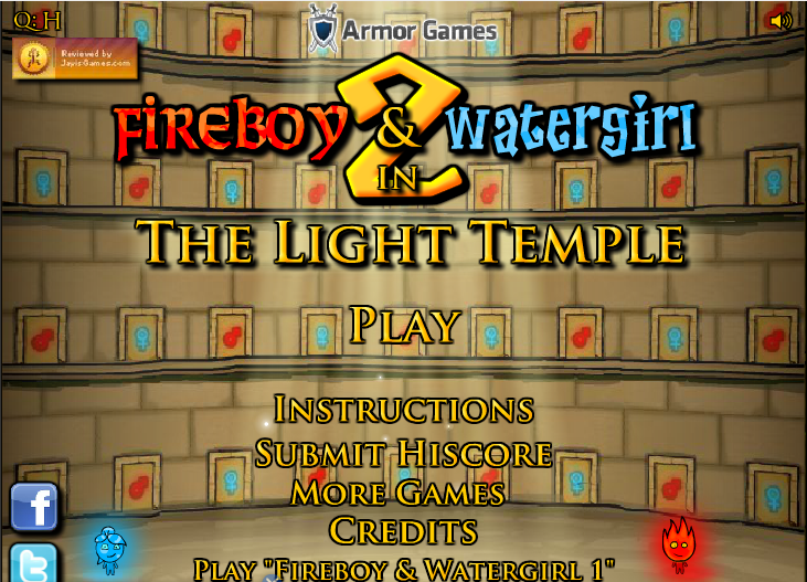 Play Fireboy & Watergirl ep. 2 Game