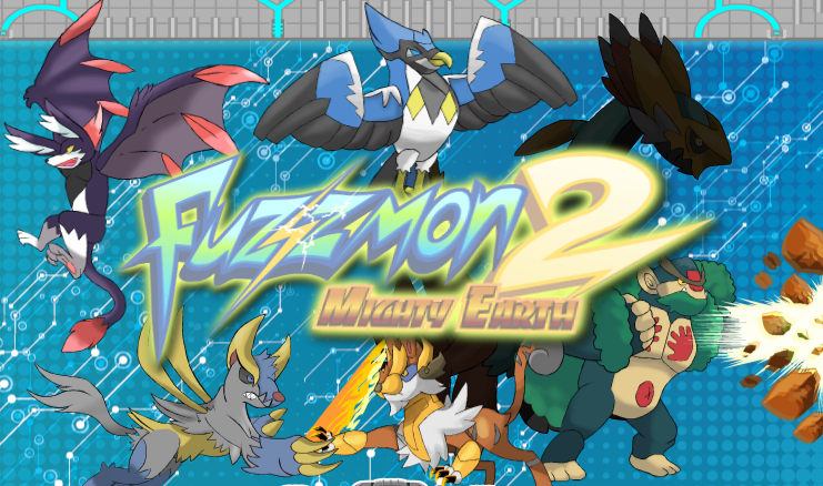 Play Fuzzmon 2 Mighty Earth Game