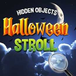 Hidden Objects Halloween Stroll Game