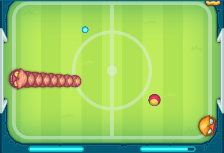 Play Soccer snakes Game