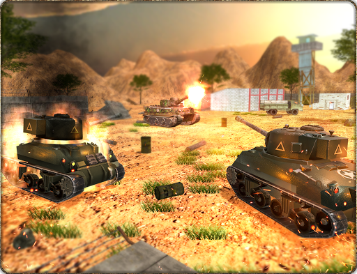 Play Tank War Simulator Game