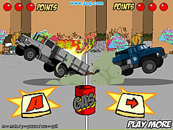Play Trucks of War Game