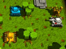 Play Voxel tanks 3D Game